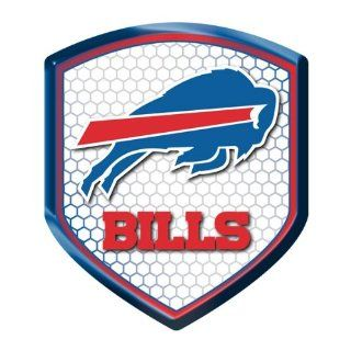 Buffalo Bills NFL Reflector Decal Auto Shield for Car Truck Mailbox Locker Sticker Football Licensed Team Logo : Sports Fan Automotive Decals : Sports & Outdoors