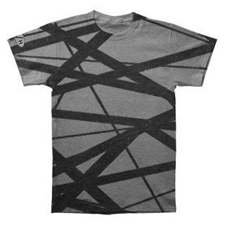 Rockabilia Van Halen Guitar Stripes Vintage T shirt Medium Clothing
