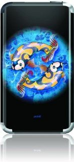 Skinit Koi Yin Yang on Black Vinyl Skin for iPod Touch (1st Gen): MP3 Players & Accessories