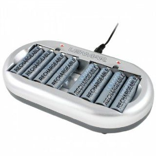 LENMAR PRO78 8 STATION AA/AAA AC CHARGER, INCLUDES 8 PCS 2000MAH NI MH BATTERIES : Consumer Electronics : Camera & Photo
