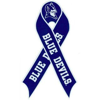 NCAA Duke Blue Devils Repositionable Ribbon Decal  Sports Related Tailgater Mats  Sports & Outdoors