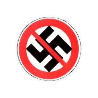Anti Swastika   Nazi Punks F*ck Off   Against Nazi   Round Sticker / Decal: Automotive