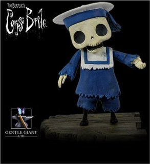Corpse Bride Buildable Skeleton Boy Bust ups Series 1: Toys & Games
