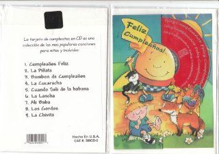 Feliz Cumplea�os  Spanish Birthday Card and CD of 9 Popular Children's Songs in Spanish: Everything Else
