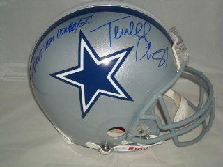 "Terrell Owens Signed Dallas Cowboys ProLine, Picture, ""How Bout Dem Cowboys?!"" at 's Sports Collectibles Store"