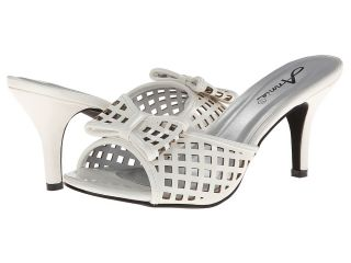 Annie La Donna Womens Toe Open Shoes (White)