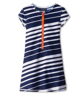 Toobydoo Rash Guard Dress Girls Swimwear (Navy)
