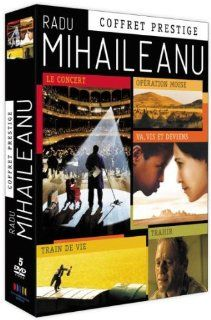5 DVD Box Milhaileanu Radu: The Concert + + Live and Become Go Train vi: Movies & TV