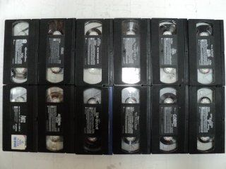 Disney & Other 12 Pack VHS Movies, Walt Disney: Buzz Lightyear of Star Command: The Adventure, Lilo & Stitch, Spot Goes to School, Sing Along Songs   The Lion King Circle of Life, Gordy, the Parent Trap, for Our Children  The Concert, the Sword in