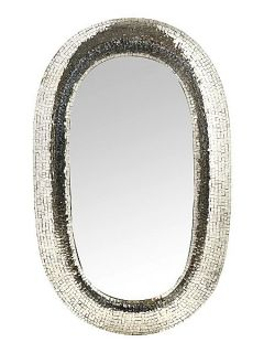 Pied a Terre Anise mirror, silver
