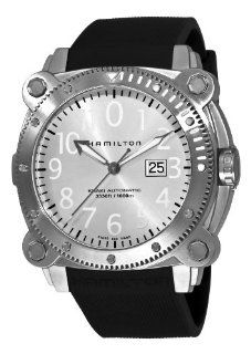 Hamilton Men's H78515353 Khaki Navy BelowZero Gold Tone Grey Dial Watch Hamilton Watches