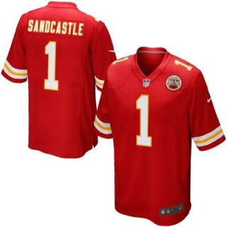 Nike Leon Sandcastle Kansas City Chiefs Game Jersey   Red