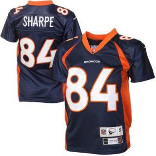 Reebok Shannon Sharpe Denver Broncos Youth Premier Tackle Twill Jersey   Navy Blue