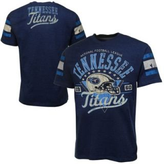Tennessee Titans Play Dirt Big & Tall T Shirt   Navy Blue