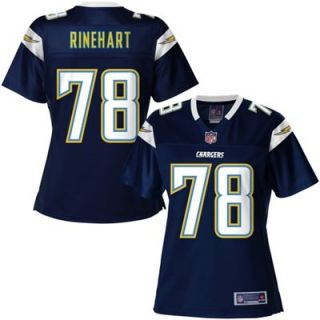 Pro Line Womens San Diego Chargers Chad Rinehart Team Color Jersey