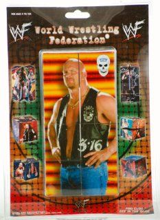 WWF / WWE   1998   Game Day Ent.   Pro Cube   9 Different WWF Superstars   Steve Austin / Sunny / Undertaker / Kane / The Rock + More   Works Like aRubik's Cube   New   Limited Edition   Collectible: Toys & Games
