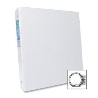Aurora Products Products   Round Ring Binder, 1 1/2amp;quot; Cap, 11amp;quot;x8 1/2amp;quot;, White   Sold as 1 EA   Heavy duty binder is made from 70 percent post consumer products and is 100 percent recyclable. Binder does not contain any VOCs (Volatile