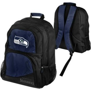 Seattle Seahawks High End Backpack   Black/College Navy