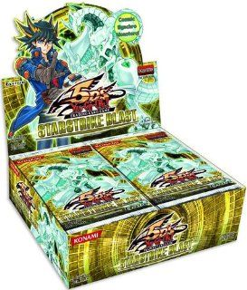 Yugioh 5D's Starstrike Blast Unlimited Booster Box (Contains 24 Packs) [Toy]: Toys & Games