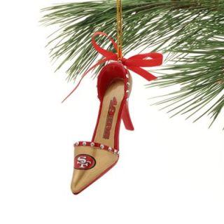 San Francisco 49ers Team High Heel Shoe Ornament
