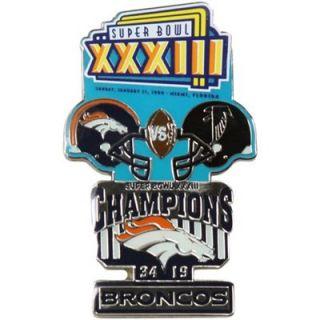 Denver Broncos Super Bowl XXXIII Collectors Pin