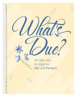 Whats Due Bill Organizer Book by Miles Kimball  Personal Organizers