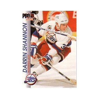 1992 93 Pro Set #218 Darrin Shannon at 's Sports Collectibles Store