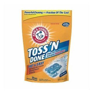 Arm & Hammer Toss n' Done Single Use Laundry Detergent Power Paks, 20 ea: Health & Personal Care