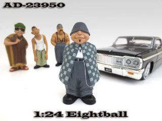 "Eightball ""Homies"" Figurine For 1:24 Diecast Model Cars by American Diorama 23950: Toys & Games"