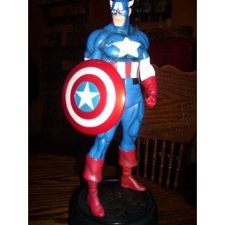 Classic Captain America Statue by Bowen Designs!: Toys & Games