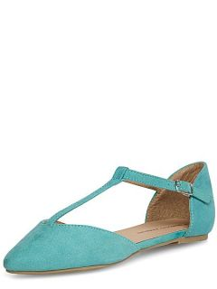 Dorothy Perkins Pointed Pumps Turquoise