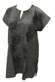La Leela Pineapple Printed Viscose Material Beach Swim Tunic Swim Cover up