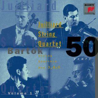 50 Years (of) Bartok, Vol. 1 String Quartets Nos. 3, 4, & 6 Music
