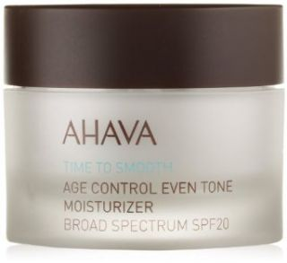 AHAVA Time to Smooth Age Control Even Tone Moisturizer Broad Spectrum SPF 20, 1.7 fl. oz.: Beauty