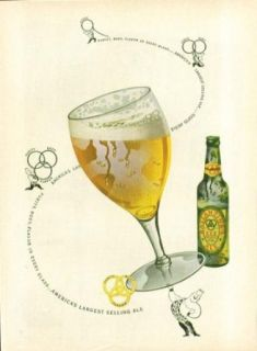 Purity Body Flavor in every glass Ballantine Ale ad 1948 strongman: Entertainment Collectibles