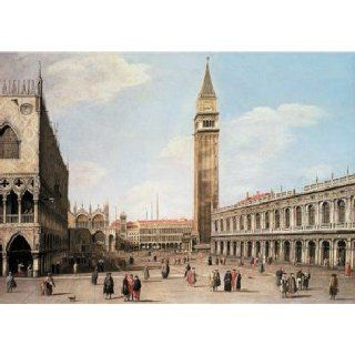 San Marcos Square Canaletto Jigsaw Puzzle 1000pc Toys & Games