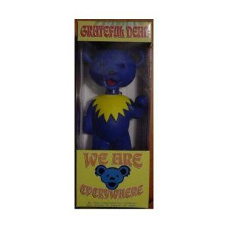 Grateful Dead Jerry Bear We Are Everywhere Bobblehead Blue: Toys & Games