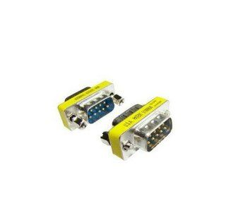JMT 2 Pcs Db9 Pin to Pin Male to Male Serial Port Header Transform COM Port on the Joints: Toys & Games