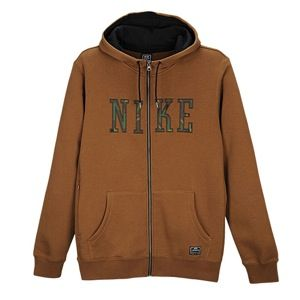 Nike Northrup Heritage FZ Hoodie   Mens   Casual   Clothing   Military Brown/Black/Camo