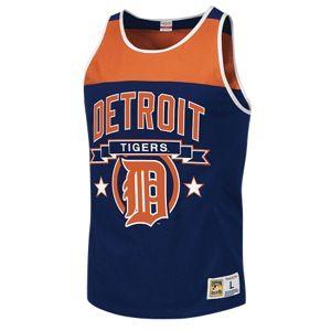 Mitchell & Ness MLB Color Blocked Tank Top   Mens   Baseball   Clothing   Boston Red Sox   Navy