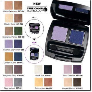NEW AVON TRUE COLOR TECHNOLOGY EYE SHADOW DUO HEALTHY GLOW  Lipstick  Beauty
