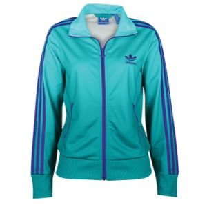 adidas Originals Firebird Track Jacket   Womens   Casual   Clothing   Blast Emerald/Blast Purple
