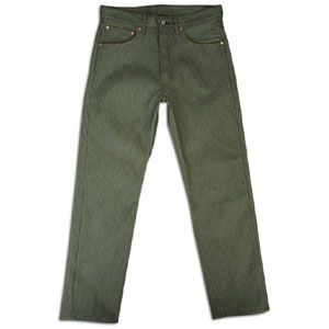 Levis 501 Shrink To Fit Jeans   Mens   Casual   Clothing   Olive Rigid