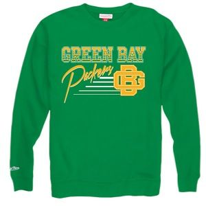 Mitchell & Ness NFL Training Room Crew   Mens   Football   Clothing   Green Bay Packers   Green