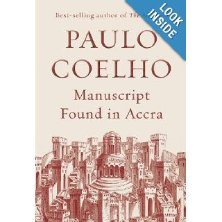 Manuscript Found in Accra (9780385367783) Paulo Coelho, Jeremy Irons, Margaret Jull Costa Books