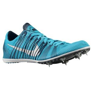 Nike Zoom Victory Elite   Mens   Track & Field   Shoes   Gamma Blue/Armory Navy/Metallic Silver