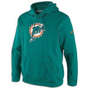 Nike NFL KO Therma Fit Hoodie   Mens   Football   Clothing   New Orleans Saints   Black