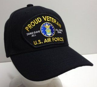 Proud Veteran Vet All Gave Some Some Gave All US Air Force Ball Cap Patch Hat OIE OEF