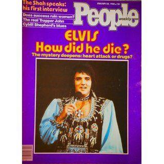 PEOPLE WEEKLY January 28, 1980 Volume 13 No. 4 ELVIS, HOW DID HE DIE? (The real Trapper John, Cybill Shepherd's blues, Elvis Presley) People Weekly Books