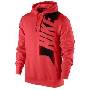 Nike KO Fade Hoodie   Mens   Training   Clothing   Lt Crimson/Black